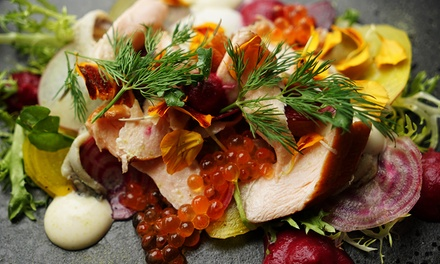 TwoCourse Dinner with Sparkling for Two $59 or Four People $115 at Chill Restaurant Bar Up to $288 Value