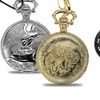Assorted Pocket Watches and Clip-On Watches