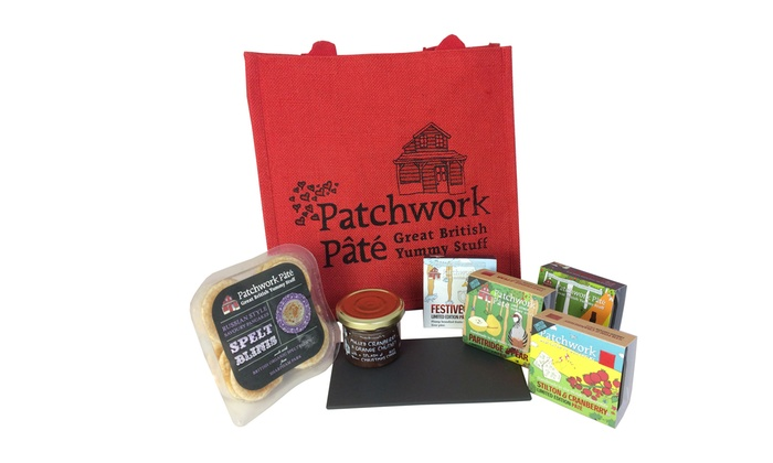 Christmas Hamper and Pâté Tasting Tour for One, Two or Four at Patchwork Pâté(Up to 51% Off)