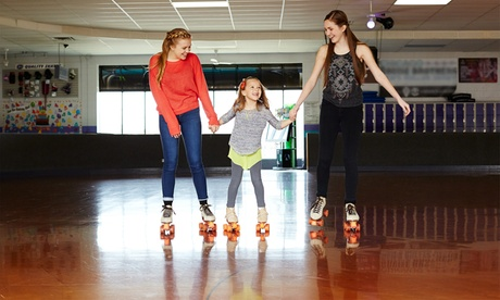 Roller Skating for 2 or 4, Family Package, or Party for 10 at Shake and Bake Family Fun Center (Up to 51% Off) 7fbb9bff-23c5-47cf-b268-06a47ac6e4a8