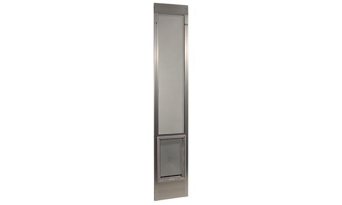 Adjustable Pet Door For Patios Groupon Goods
