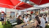 Beer Park - The Strip: $26 for $40 Worth of Beer, Drinks, and Pub Food at Beer Park