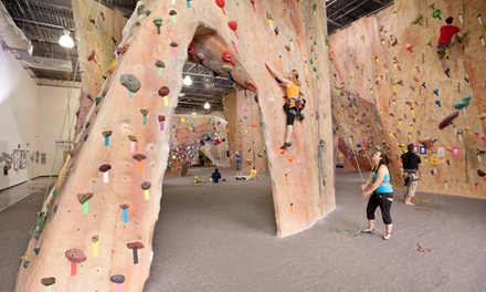 Indoor Rock-Climbing Package for Two or Four at Inner Peaks (Up to 55% Off)