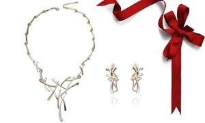 Set collier et boucles d'oreilles