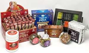 40% Off Products from Pride of India at Pride of India, plus 6.0% Cash Back from Ebates.