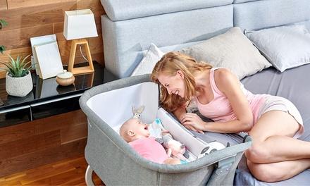 Cuna de bebé Kinderkraft con 5 alturas ajustables