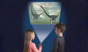 Lampe de poche et projecteur de dinosaures