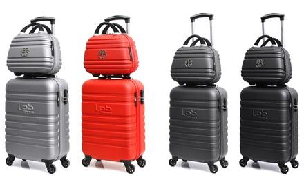 Handgepäck-Reisekoffer Aurélia inkl. Kulturtasche in der Farbe nach Wahl