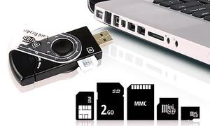 Lecteur USB Universel 14 en 1