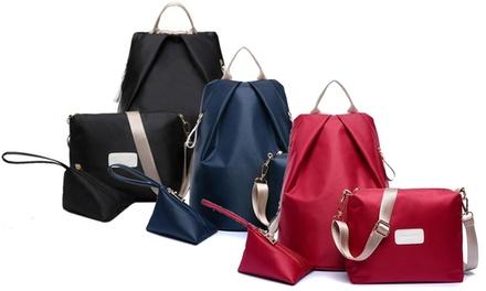 Set of Three Backpacks