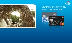 Citibank UAE: Get a chance to apply for a Citi Credit Card + AED 500 to spend on your new card
