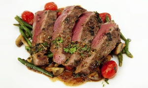 Brook & Barter: 10oz Rump Steak Meal and Drink for Two or Four at Brook & Barter (Up to 34% Off)