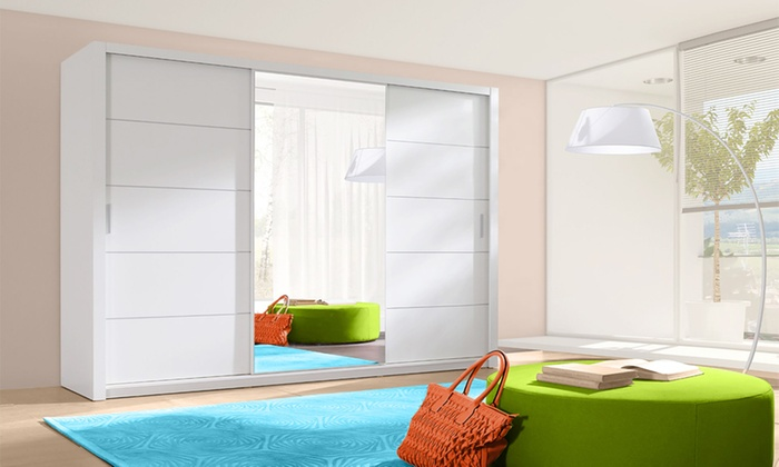 Ordu Sliding Door Wardrobe Set