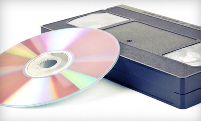 ARS Video - Woodmere: Digital Transfers of Old Media to DVD from ARS Video (Up to 76% Off). Four Options Available.