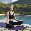 68% Off One-Month Unlimited Yoga with Mindful Eating Program