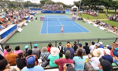 image for Hawaii Open WTA Professional Tennis Tournament (November 20–23)