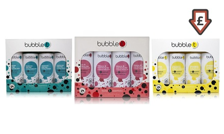 One or Three Bubble T Bath and Body Gift Sets