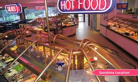All-You-Can-Eat Dinner Buffet for Two ($39) or Four People ($79) at Foodstar Restaurant Sunshine (Up to $115.60 Value)
