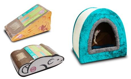 Tiragraffi per gatti disponibili in 3 modelli