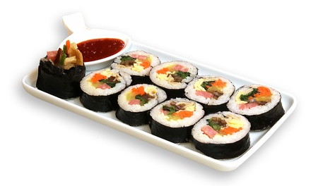 $6 for a Gimbap Rice Roll from Roll 101 (worth $10.50) at Orchard Gateway. More Options Available