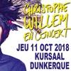 Christophe Willem à Kursaal