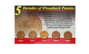 Wheat-Back Pennies Commemorative Set