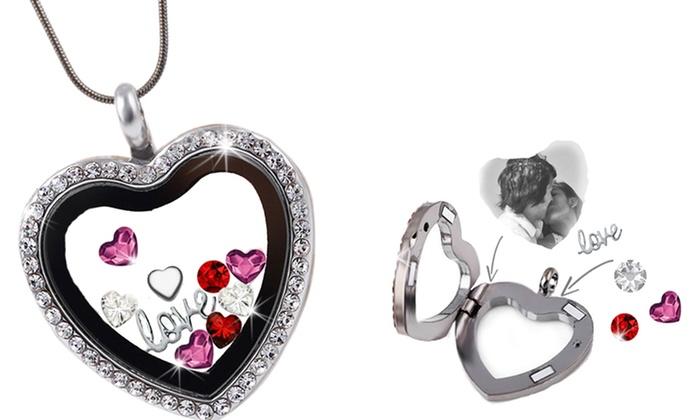 prix incroyables nouveau sommet parcourir les dernières collections Collier cristaux Swarovski® | Groupon Shopping