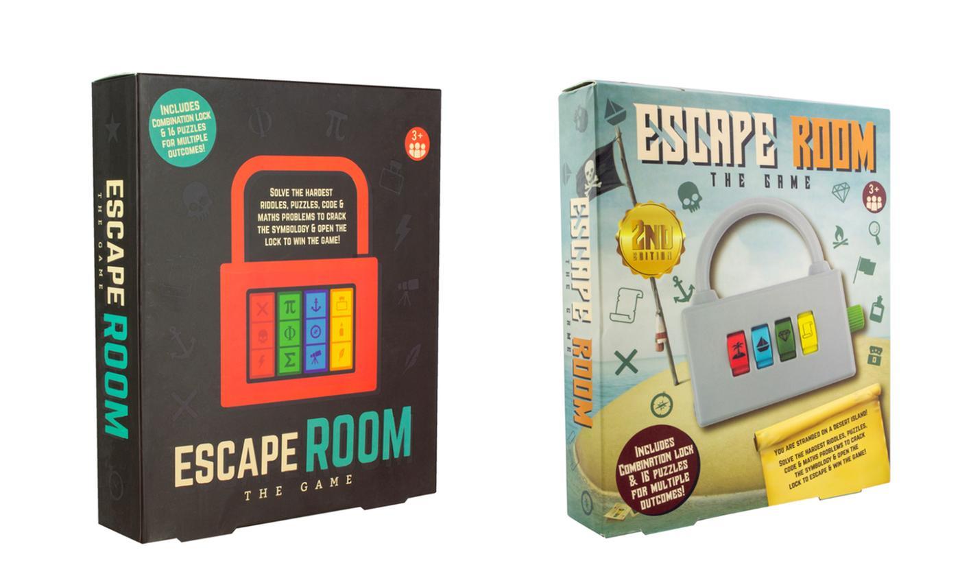 Paladone Escape Room Game Bundle