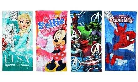 Toallas de playa con personajes de Disney & Marvel
