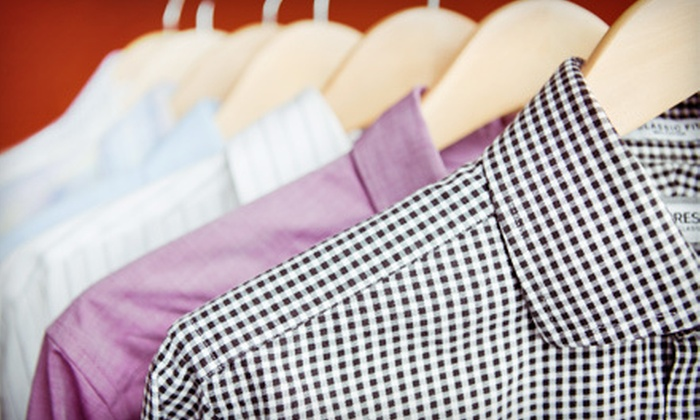 Tripp's Fine Cleaners - Multiple Locations: Dry Cleaning, Bridal-Gown Preservation, Alterations, and Comforter Cleaning at Tripp's Fine Cleaners (Up to 51% Off)