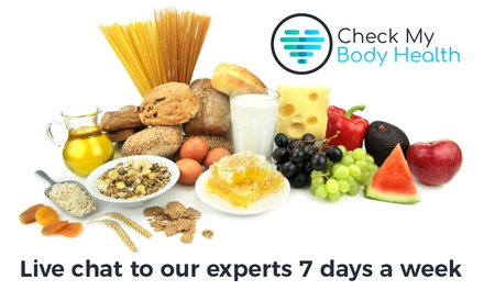 Food Intolerance Test Package: Bronze $19, Silver $29, Gold $44.99 or Platinum $54.99 from Check My Body Health