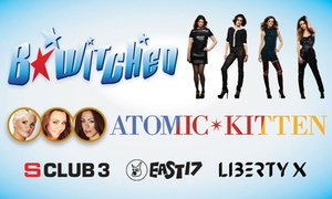 B*Witched & Atomic Kitten: $49.90 for B*Witched and Atomic Kitten Concert Ticket - Sydney, Perth & Brisbane (Up to $89.90 Value)