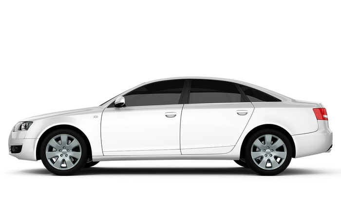 Tint Zone - Raytown: $149 for Window Tinting on a Four-Door Car at Tint Zone ($275 Value)