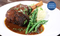 Two-Course Dinner for Two ($39), Four ($75), Six ($113) or Eight ($149) at The Residence (Up to $320 Value)