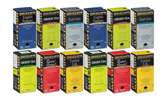 6-Pack of Bigelow Tea in Assorted Flavors: 6-Pack of Bigelow Tea in Assorted Flavors; 168ct.