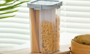 Four-Compartment Food Container