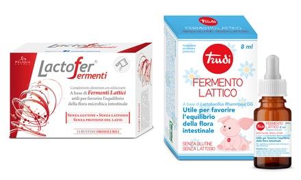Fermenti lattici Trudi e Lactofer