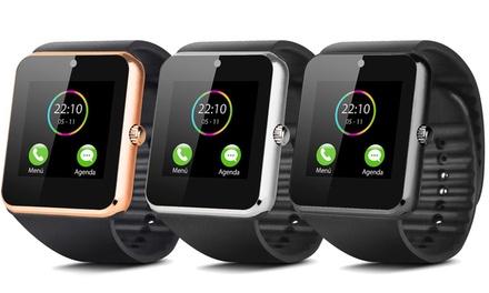Smartwatch multifunción con cámara y monitor de actividad Smartek