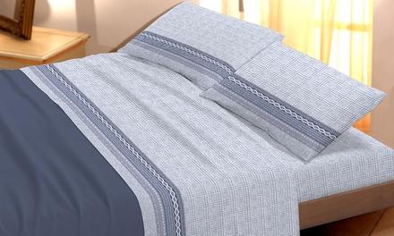 Completo letto in cotone