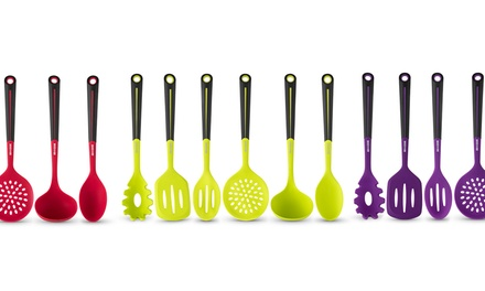 Art and Cook Silicone Utensil Set (6-Piece)