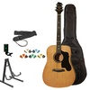 Sawtooth Acoustic Guitar with Black Pickguard