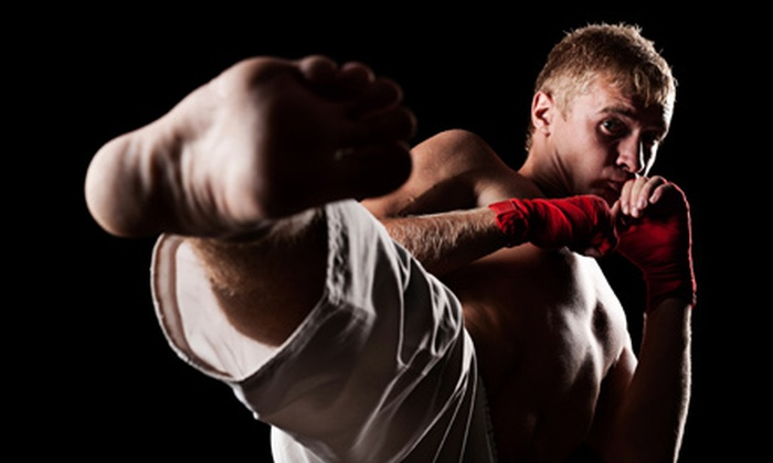 Clinch Martial Arts Academy - Norcross: 5 or 10 Groupons, Each Good for Muay Thai Kickboxing or Brazilian Jujitsu Class at Clinch Martial Arts Academy (60% Off)