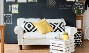 Plural Clean – Costa Azul: Lavagem de tapete ou lavagem e higienização de sofá (com opção de cadeiras) com a Plural Clean