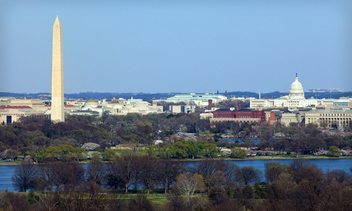 null - Washington DC: Stay with Breakfast and Parking at Embassy Suites Tysons Corner near Washington, DC