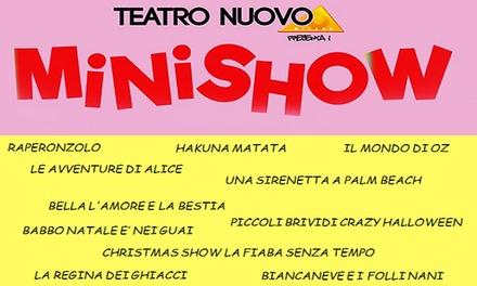 Promozione Biglietti Eventi Groupon.it 5 minishow per bambini, Milano