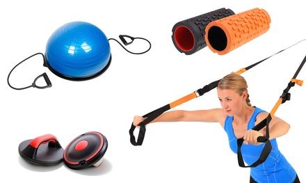 Sportplus Sportgeräte  Massagerolle, Balance Trainer, Balance Board, Schlingentrainer Evolution oder Liegestützgriffe  (Frankfurt)