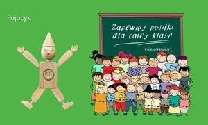 Polska Akcja Humanitarna: Program Pajacyk: groupon charytatywny na posiłki dla dziecka z polskich szkół – wsparcie na 1, 2 miesiące lub cały rok