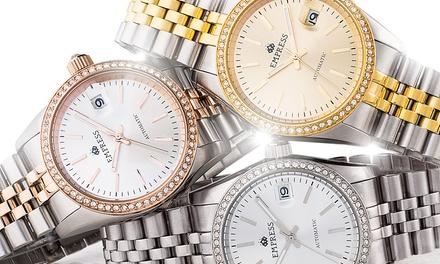 12e5f4127116 Reloj automático Empress modelo Constance para mujer ...