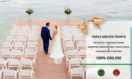 Triple máster online de protocolo de bodas, marketing digital y oratoria en Unidema (con 99% de descuento)