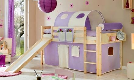 TICAA Kinderbett aus Massivholz in der Farbe nach Wahl (Duesseldorf)